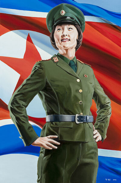 Mina Cheon, 'Happy North Korean Girl', 2012