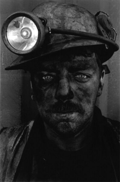 Colin Jones, 'Miner having just finished his 6-hour shift below ground, South Wales ', 1997