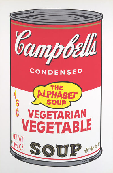 Andy Warhol, 'Campbell's Soup II: Vegetarian Vegetable', 1969
