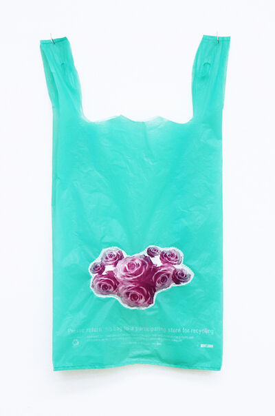 Celeste Wilson, 'Green Puff Bag', 2018-2019
