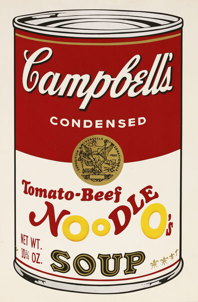Andy Warhol, 'Tomato-Beef Noodle O's, From Campbell's II (F.&S.II.61)', 1969