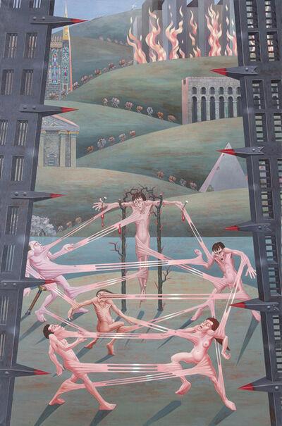 Irving Norman, 'Interrelations', 1973