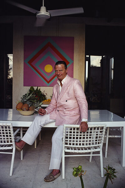 Slim Aarons, 'David Nightingale Hicks', 1980