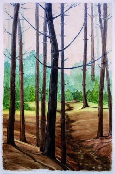 Marguerite Robichaux, 'Cathedral Woods, Mohegan'