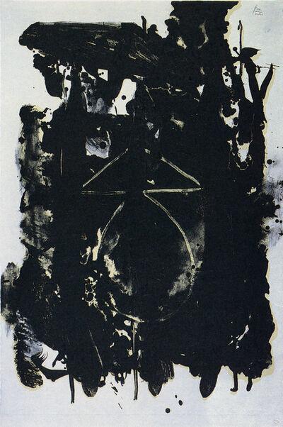 Robert Motherwell, 'El General', 1980