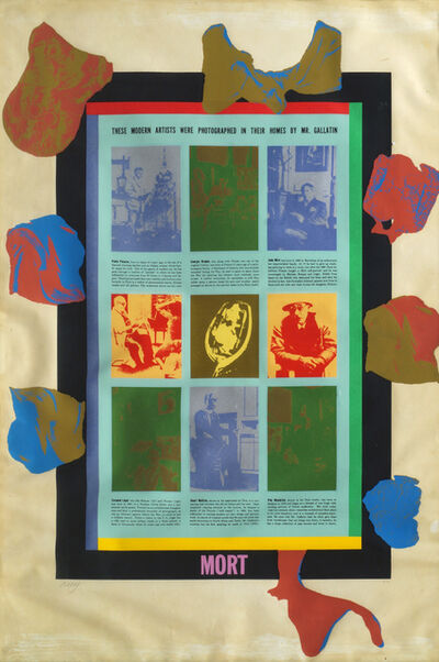 R. B. Kitaj, 'These Modern Artists were Photographed in their Homes by Mr Gallatin Mort'