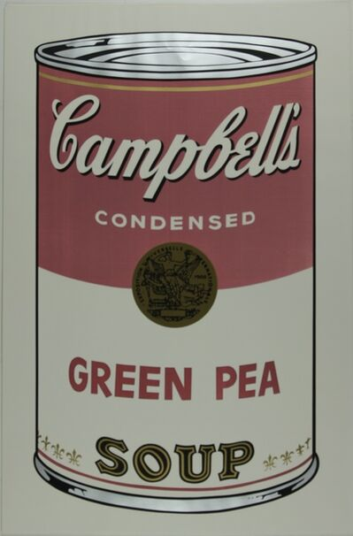 Andy Warhol, 'Campbell's Soup I, Green Pea F&S II.50', 1968