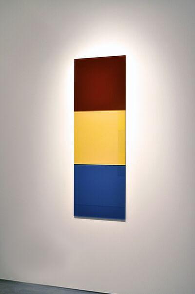 Thór Vigfússon, 'Untitled (purple red, sulfur yellow, azure blue)', 2011