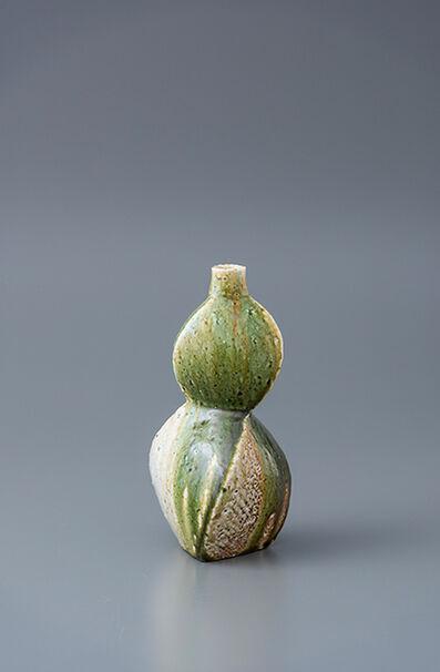 Ken Matsuzaki, 'Vase, yohen oribe glaze', 2018
