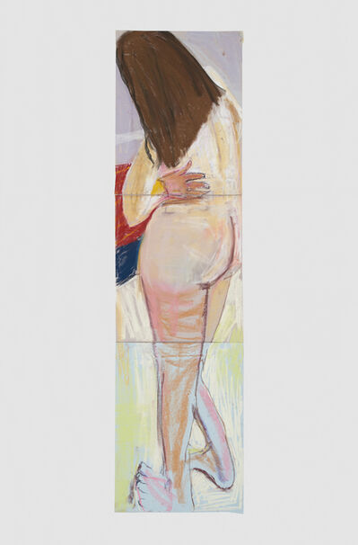 Chantal Joffe, 'Self Portrait from Behind with Hand on Hip', 2015