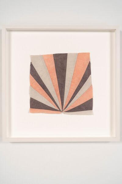 Yto Barrada, 'Untitled (Stella sunrise textile)', 2019