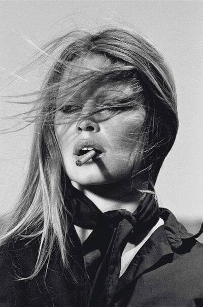 Terry O'Neill, 'Brigitte Bardot cigar (co-signed)', 1971