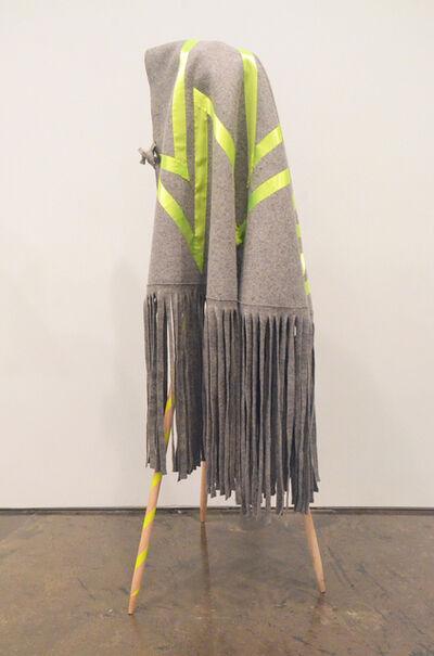 Maria Hupfield, 'Ribbon Bolt', 2018