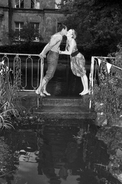 Gundula Friese, 'Kisses, Potsdam, East Germany', 1988