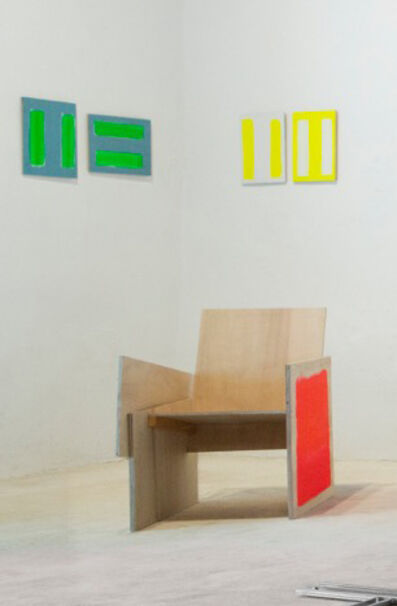 charlie jeffery, 'This is how it could have been (chair)', 2018