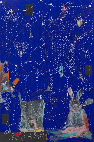 Aki Kuroda, 'Blue Magic 2', 2019