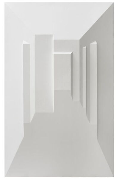 Lei CAI, 'In Ambiguous Sight – White No. 9', 2016