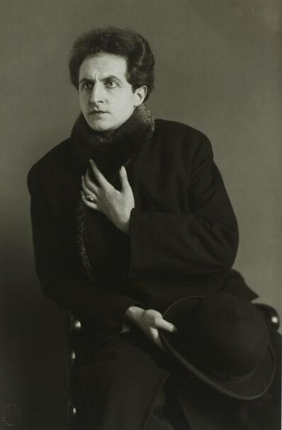 August Sander, 'DerTenor(LeonardoAramesco)', ca. 1928