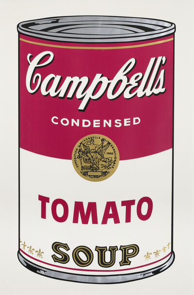 Andy Warhol, 'Tomato Soup, from: Campbell's Soup I', 1968