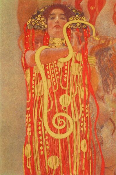 Gustav Klimt, 'Medicine (Detail: Hygieia)', 1900/07