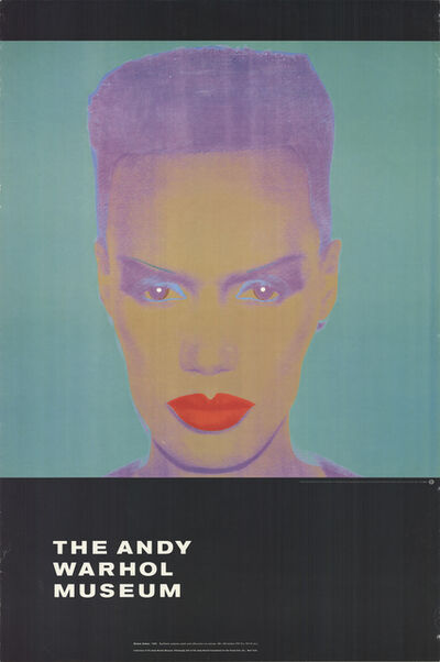 Andy Warhol, 'Grace Jones', 1992