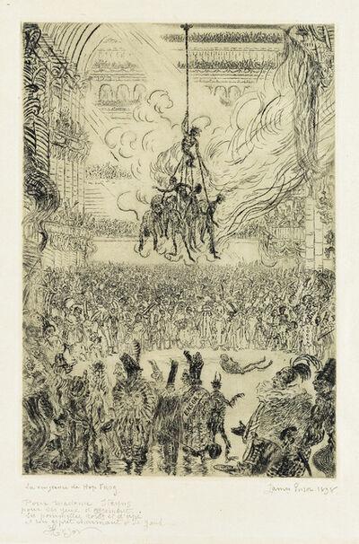 James Ensor, 'Hop-Frog's Revenge', 1898