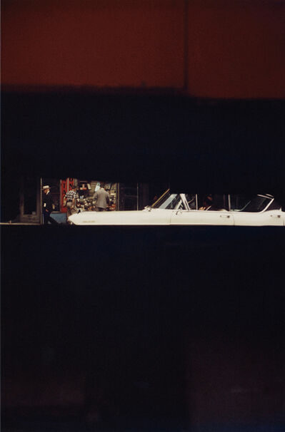 Saul Leiter, 'Through Boards', 1957-printed later