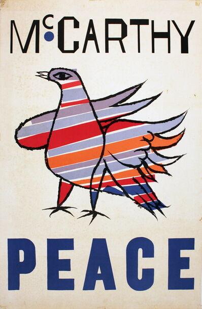 Ben Shahn, 'McCarthy Peace', 1968