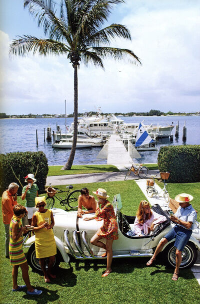 Slim Aarons, 'Palm Beach Society', 1968