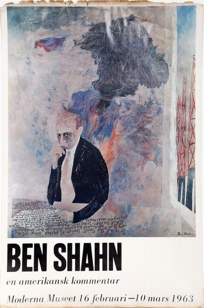 Ben Shahn, 'Moderna Museet', 1963