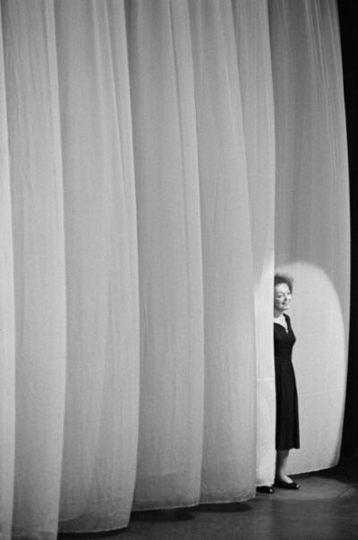 Luc Fournol, 'Edith Piaf, Paris Olympia music hall', 1961