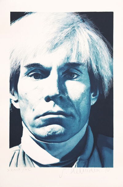 Gottfried Helnwein, 'Portrait of Andy Warhol', 1990