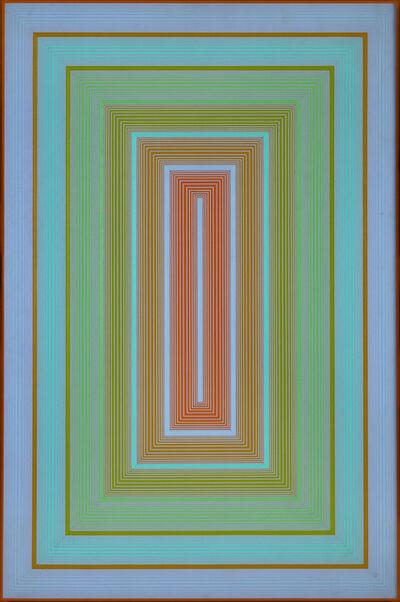 Richard Anuszkiewicz, 'Blue to Orange ', 1972