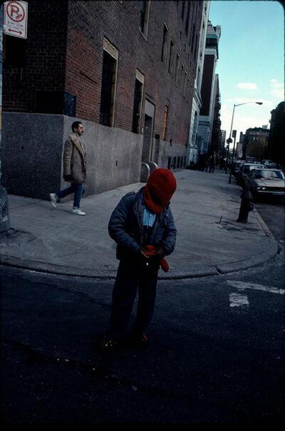 Arlene Gottfried, 'Kid in Red Hood, Lower East Side, NY', 1989