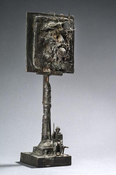 César, 'Autoportrait, le poilu', 1984-1988