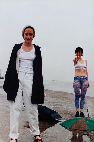 Wolfgang Tillmans, 'Rylan & Paula Shooting', 1996