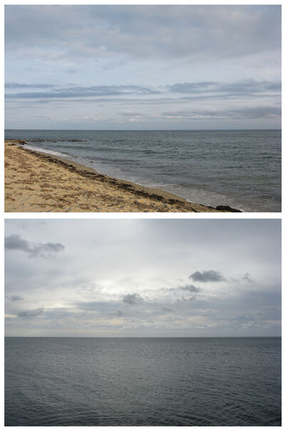 David Horvitz, 'View of the Atlantic Ocean / View of the English Channel'