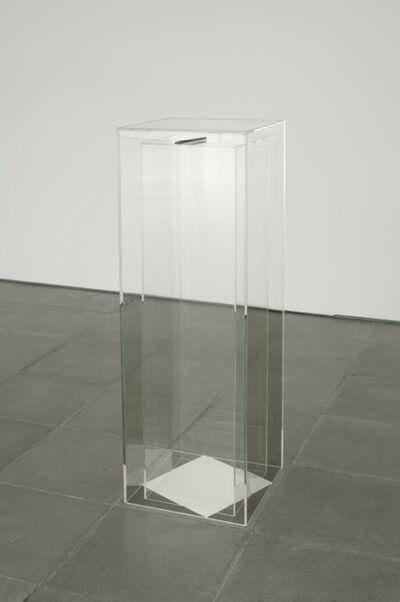 Giulio Paolini, 'Niente e subito', 2006
