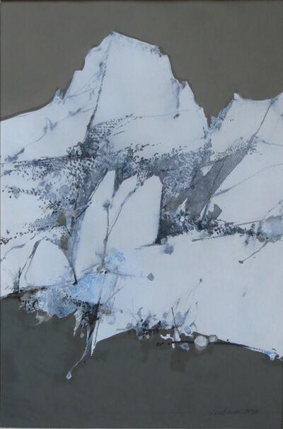 Donald Louthian, 'Winter Mountains', 1990
