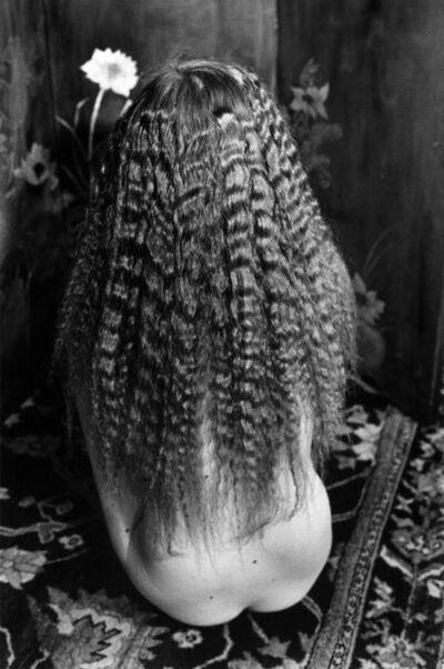 Edouard Boubat, 'Nu aux cheveux frisés', 1981