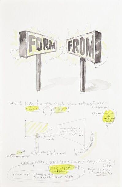Pravdoliub Ivanov, 'Form From Form', 2011