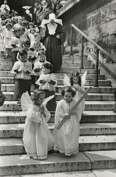 Henri Cartier-Bresson, 'Corpus Christi procession, Paris', 1951