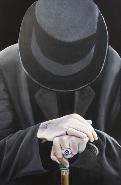 Shlomo Tuvia, 'The Man in Black', 2018