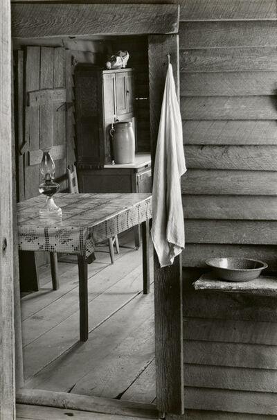 Walker Evans, 'Washroom and Dining Area of Floyd Burroughs' Home, Hale County, Alabama', 2936