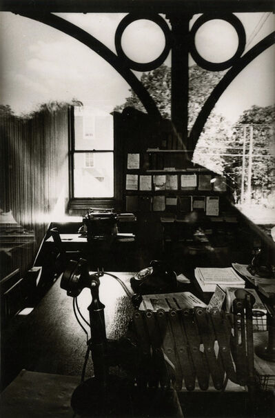 Ralph Gibson, 'untitled (office desk and window)', 1965