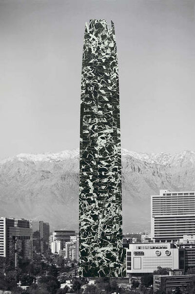 Patrick Hamilton, 'Redressed Architectures for the City of Santiago (Costanera Center),', 2013
