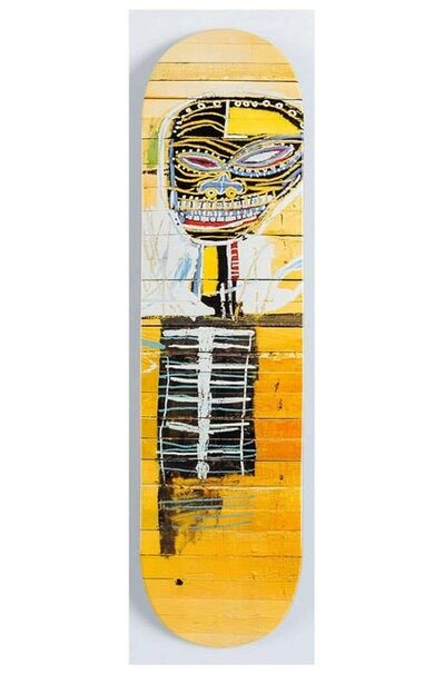 Jean-Michel Basquiat, 'Basquiat Gold Griot Skate Deck ', 2015