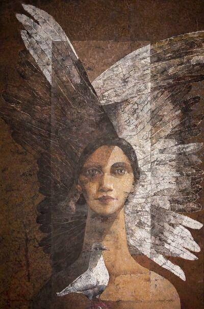 Jamil Naqsh, 'Angel III', 2013