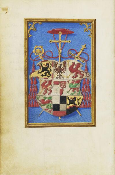 Simon Bening, 'Blazon of Cardinal Albrecht von Brandenburg', 1525-1530