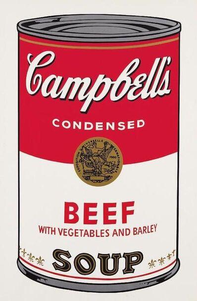 Andy Warhol, 'Campbells Soup Beef II.49', 1968